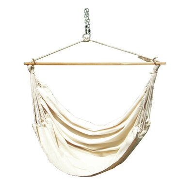 Cotton Chair Hammock Color: Natural