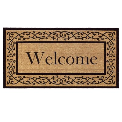 Brouillard Doormat Mat Size: Rectangle 26 x 4