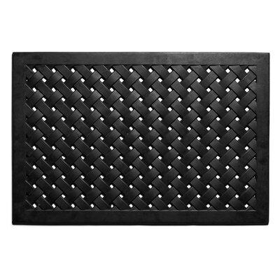 Hampton Weave Doormat Rug Size: 16 x 26
