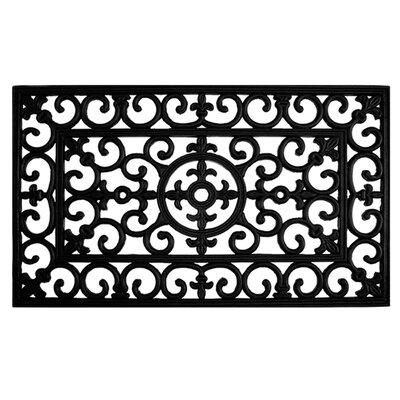 Winchcombe Fleur De Lis Doormat Rug Size: 2 x 3