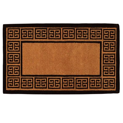 The Grecian Doormat Rug Size: 2 x 3