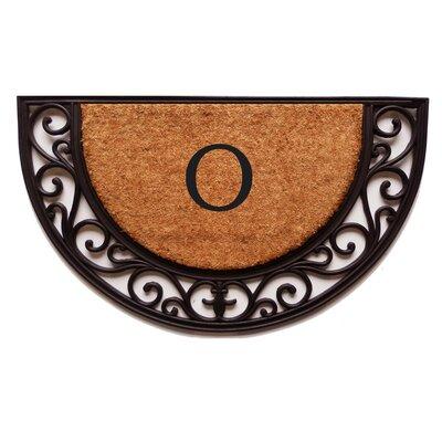 Plantation Monogram Doormat Letter: O