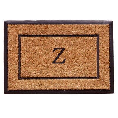 General Monogram Doormat Letter: Z