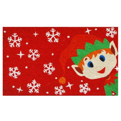 Christmas Elf Doormat
