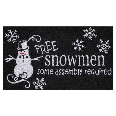 Free Snowmen Doormat
