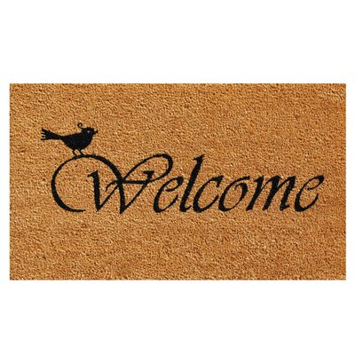 Chirp Welcome Doormat