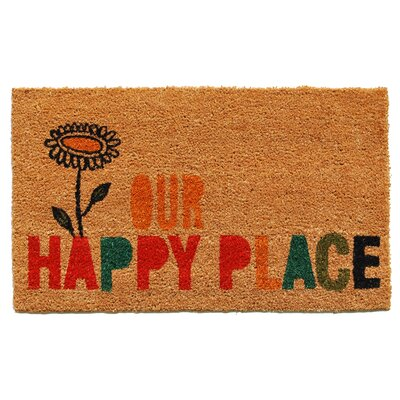 Leeanna Our Happy Place Doormat