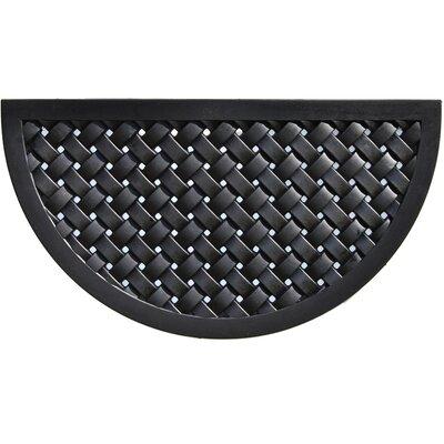 Hampton Weave Rubber Doormat