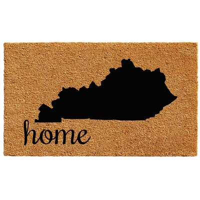 Kentucky Doormat Rug Size: 1.5 x 2.5