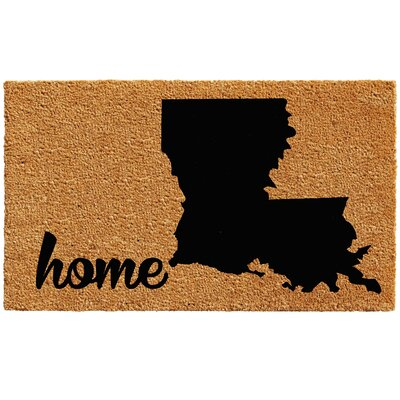 Louisiana Doormat Rug Size: 1.5 x 2.5