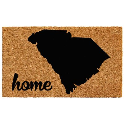 South Carolina Doormat Rug Size: 2 x 3