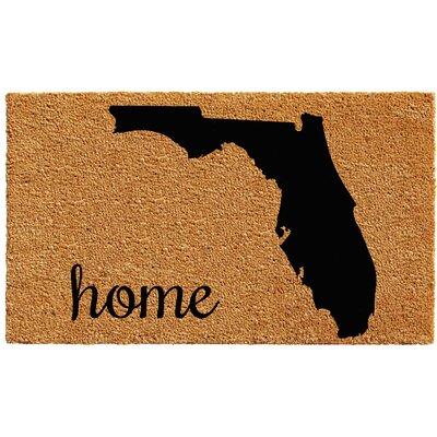 Florida Doormat Rug Size: 2 x 3