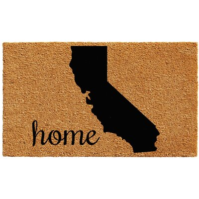 California Doormat Mat Size: 1.5 x 2.5