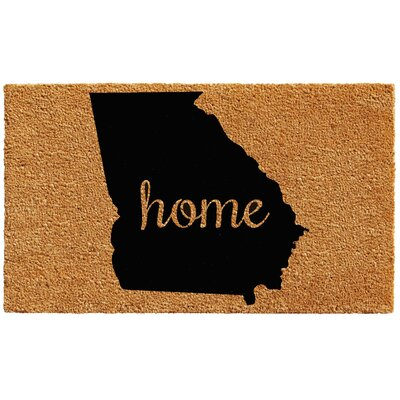 Georgia Doormat Mat Size: Rectangle 1.5 x 2.5
