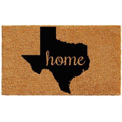 Texas Doormat Mat Size: 1.5 x 2.5