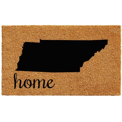 Tennessee Doormat Rug Size: 1.5 x 2.5