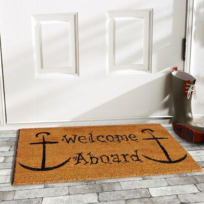 Welcome Aboard Doormat