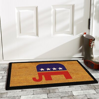 Scalf Elephant Doormat