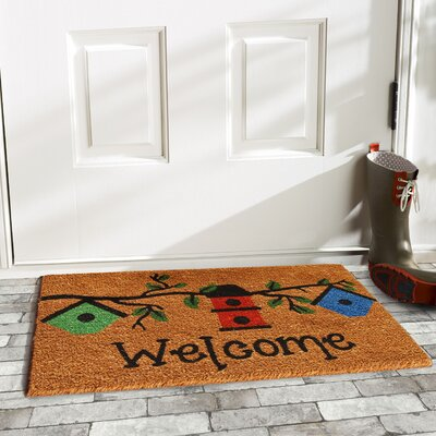Birdhouse Welcome Doormat