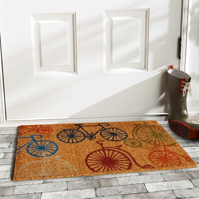 Gobert Bicycles Doormat Rug Size: Rectangle 29 x 17