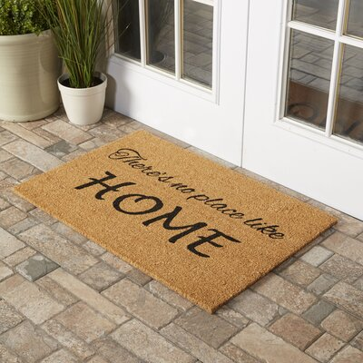 Austinburg No Place Like Home Doormat Mat Size: Rectangle 2 x 3