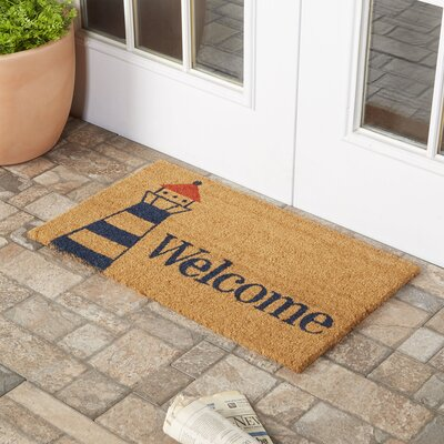 Lighthouse Welcome Doormat