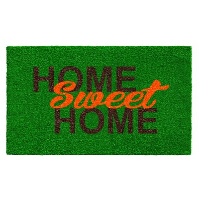 Horne Sweet Home Doormat Rug Size: Rectangle 15 x 25