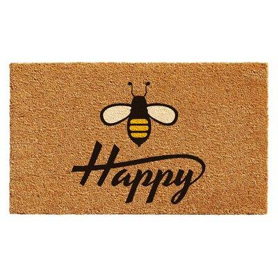 Howe Bee Happy Doormat