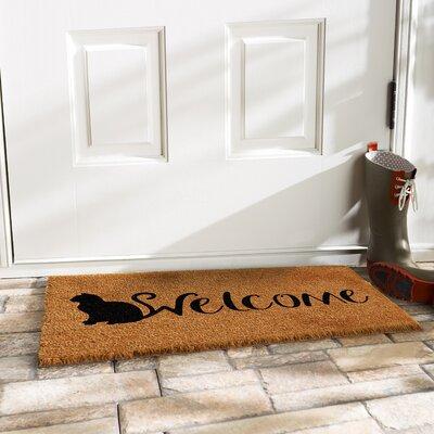 Hoyne Feline Welcome Doormat
