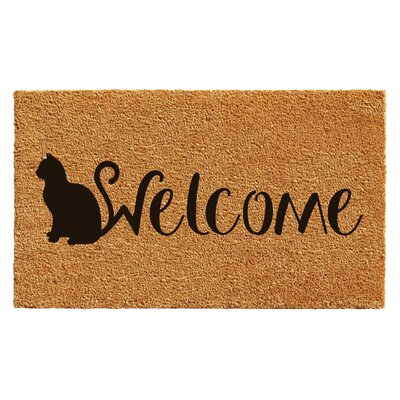 Hoyne Feline Welcome Doormat