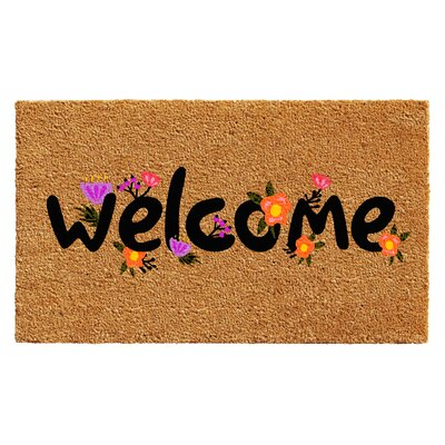 Hubert Spring Welcome Doormat