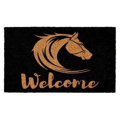 Humphrey Stallion Welcome Doormat