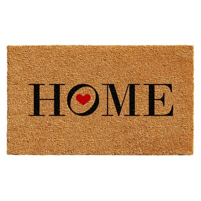 Huntington Heart Home Doormat