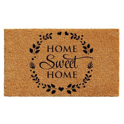 Laplante Sweet Wreath Doormat