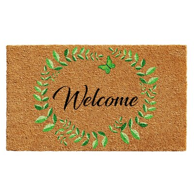 Hillcrest Vine Wreath Doormat