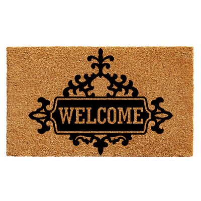 Hobert Welcome Doormat