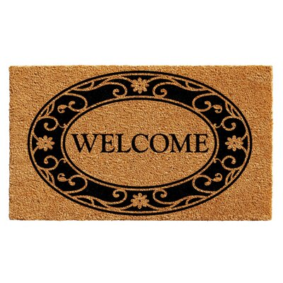 Hobson Welcome Doormat Rug Size: 2 x 3