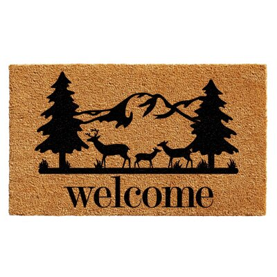 Williamson Rocky Mountain Welcome Doormat