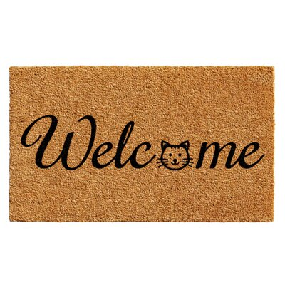 Horatio Kitty Welcome Doormat
