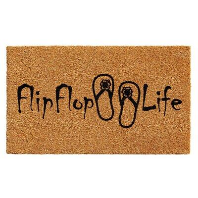 Brierwood Flip Flop Life Doormat