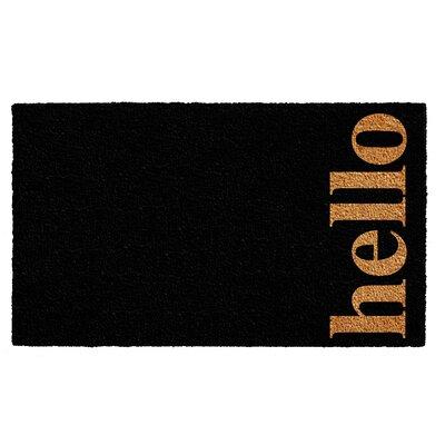 Helsley Vertical Hello Doormat