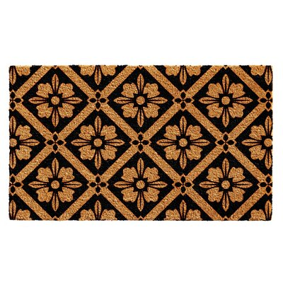 Woodburn Sophia Doormat Mat Size: 2 x 3