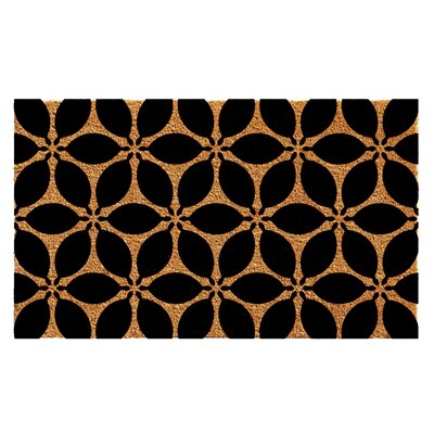 Aziz Pansies Doormat Mat Size: 2 x 3