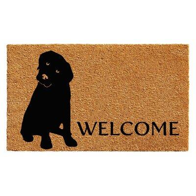 Redmon Labrador Doormat Rug Size: 2 x 3
