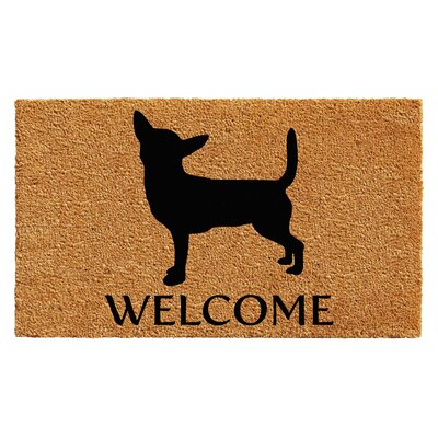 Lapointe Chihuahua Doormat Mat Size: 2 x 3
