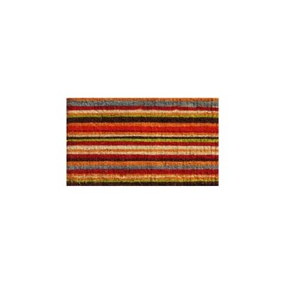 Renfrow Palisades Stripe Doormat Rug Size: 2 x 3