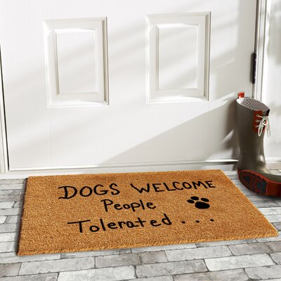 Matherne People Tolerated Doormat