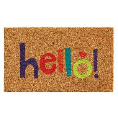 Karev Hello Doormat