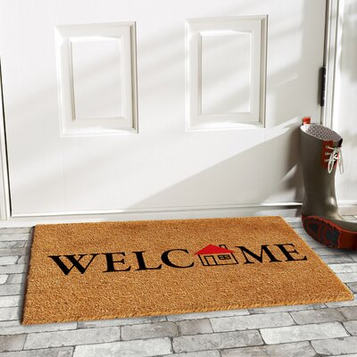 Mathers Little House Welcome Doormat