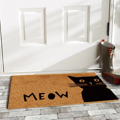 Bloom Meow Doormat
